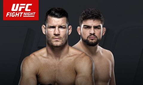 UFC Fight Night 122's new poster with Michael Bisping!