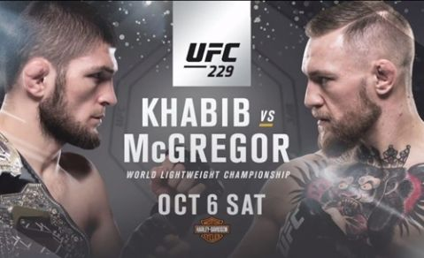UFC 229: Khabib vs. McGregor press conference set for September 20 in New York