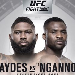 UFC Fight Night: Blaydes vs. Ngannou 2 fight card