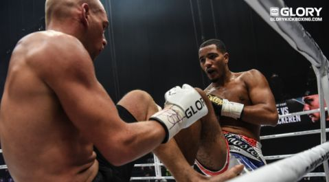 Injury forces two changes to GLORY 64 STRASBOURG card