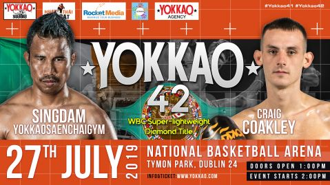 Singdam vs Coakley for WBC Diamont title at Yokkao 42