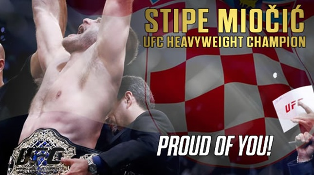 Exclusive interview with UFC champ Stipe Miočić!