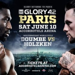Updated Fight Card For GLORY 42 Paris