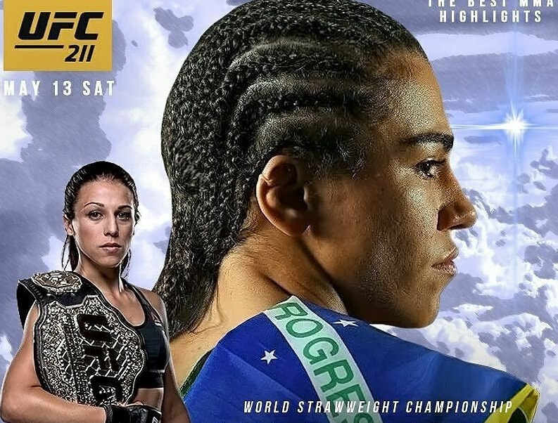 Andrade bets on 'hard chin' to defeat Jedrzejczyk