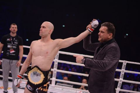 Luka Jelčić defends his belt for the first time at FFC 29!