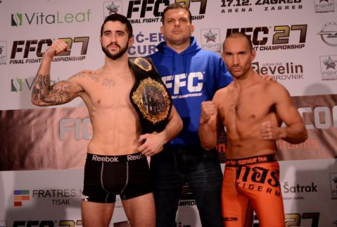 FFC 27 Weigh-in: Staring faces off Stošić, Pejić fails to meet the scales!