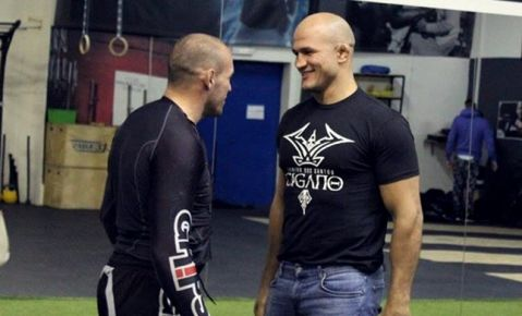 Pokrajac and JDS train together at ATT gym in Zagreb