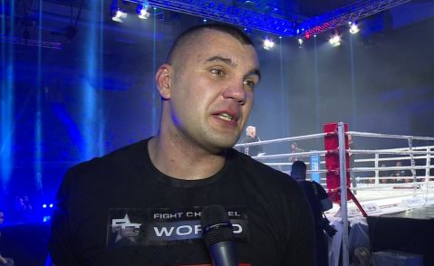 """FFC 29 – Mladen Brestovac post-fight interview: """"Tonight I had my bachelor night here in the ring"""""""