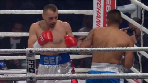 Sep makes his boxing pro debut with a 1st round KO win!