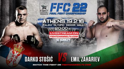 Three more great fights coming up at FFC in Athens: Stošić to face his biggest FFC challenge so far!