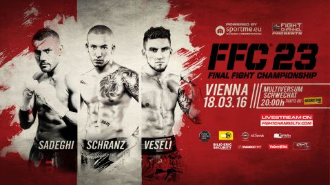 FFC 23 Vienna: Three title bouts coming up in the Austrian capital!