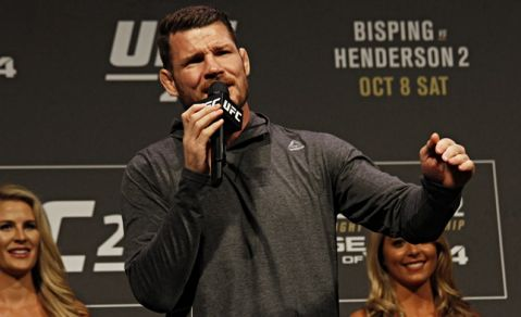 """Bisping: """"Nobody 'gives a sh*t' about Chris Weidman or Luke Rockhold, will wait for 'true No. 1 contender'"""""""