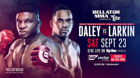Paul Daley claims that Lorenz Larkin is below the level of fighter that he's used to fighting