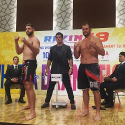 All fighters make weight ahead of RIZIN FF 19
