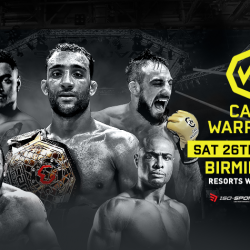 Cage Warriors 109 fight card