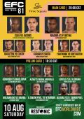The countdown to EFC 81 begins