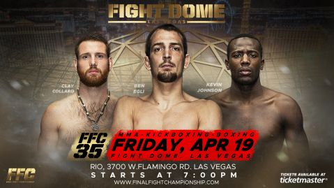 More fights confirmed for FFC 35 April 19!