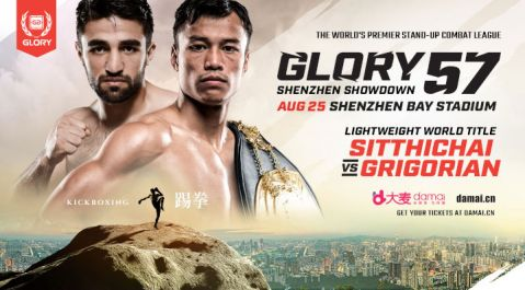 GLORY Returns to China with 11 Thrilling Bouts