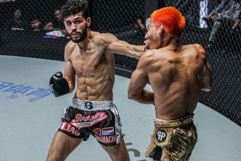 Ilias Ennahachi becomes the new ONE: flyweight kickboxing champion