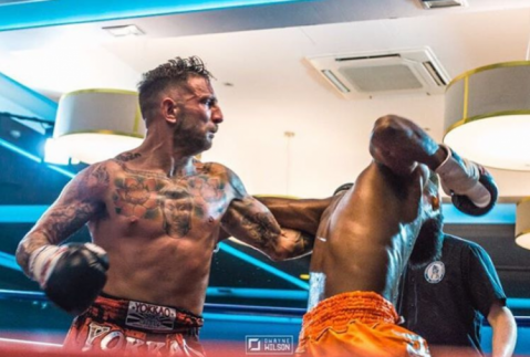 Liam Harrison: 'I'm looking forward to going to war'
