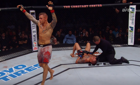 Dustin Poirier: 'Anthony Pettis was a broken man in there'