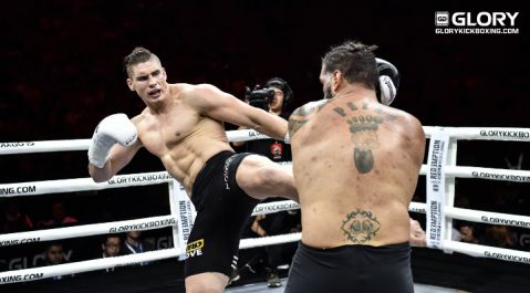 Rico rocks 'Bigfoot' for second-round stoppage at GLORY 46