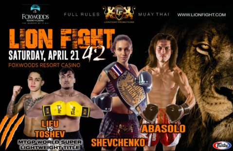 Stacked lineup set for Lion Fight 42 at Foxwoods