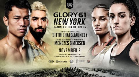 Historic Hammerstein Ballroom to Host GLORY 61 New York 
