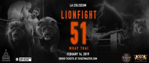 Lion Fight launches 2019 schedule with two shows