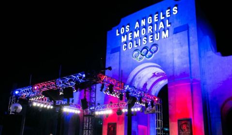 Lion Fight 50 at the Los Angeles Memorial Coliseum