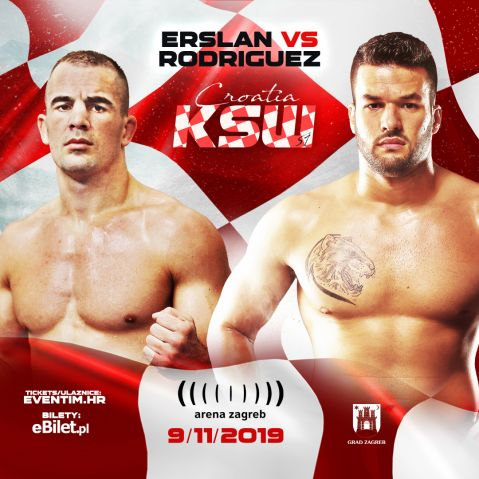 Ivan Erslan vs Darwin Rodriguez set for KSW 51